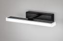 Wandlamp 73993: modern, kunststof, acrylaat kunststofglas, zwart #2