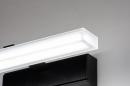 Wandlamp 73993: modern, kunststof, acrylaat kunststofglas, zwart #6