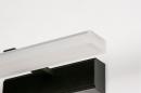 Wandlamp 73993: modern, kunststof, acrylaat kunststofglas, zwart #7
