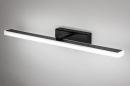 Wandlamp 73994: modern, kunststof, acrylaat kunststofglas, zwart #2