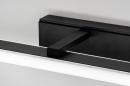 Wandlamp 73994: modern, kunststof, acrylaat kunststofglas, zwart #8