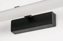 Wandlamp 73994: modern, kunststof, acrylaat kunststofglas, zwart #9