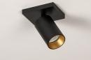Spot 73999: moderne, aluminium, acier, noir #5
