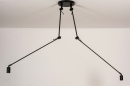 Hanglamp 74004: industrie, look, modern, metaal #1