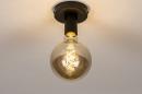 Plafondlamp 74007: industrie, look, modern, metaal #11