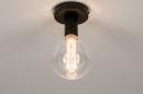 Plafondlamp 74007: industrie, look, modern, metaal #2