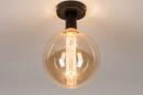 Plafondlamp 74007: industrie, look, modern, metaal #4