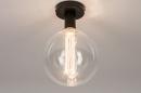 Plafondlamp 74007: industrie, look, modern, metaal #5