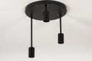 Plafondlamp 74009: industrie, look, modern, metaal #1