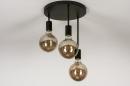 Plafondlamp 74009: industrie, look, modern, metaal #10