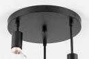 Plafondlamp 74009: industrie, look, modern, metaal #11