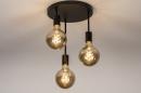 Plafondlamp 74009: industrie, look, modern, metaal #3