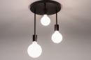 Plafondlamp 74009: industrie, look, modern, metaal #5