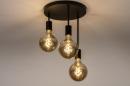 Plafondlamp 74009: industrie, look, modern, metaal #6