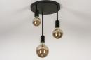 Plafondlamp 74009: industrie, look, modern, metaal #9