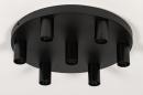 Plafondlamp 74010: industrie, look, modern, metaal #1