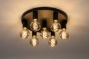 Plafondlamp 74010: industrie, look, modern, metaal #2