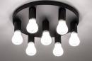 Plafondlamp 74010: industrie, look, modern, metaal #3