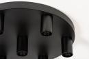 Plafondlamp 74010: industrie, look, modern, metaal #6