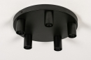 Plafondlamp 74011: industrie, look, modern, metaal #1