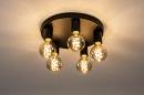 Plafondlamp 74011: industrie, look, modern, metaal #2