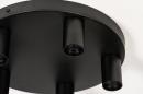 Plafondlamp 74011: industrie, look, modern, metaal #6