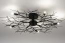 Plafondlamp 74013: landelijk, rustiek, modern, eigentijds klassiek #2