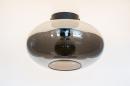 Plafondlamp 74016: modern, retro, eigentijds klassiek, art deco #5