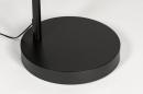 Vloerlamp 74019: modern, metaal, zwart, mat #4