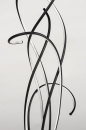 Vloerlamp 74022: modern, metaal, zwart, mat #5