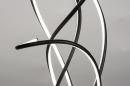 Vloerlamp 74022: modern, metaal, zwart, mat #6