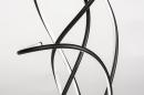 Vloerlamp 74022: modern, metaal, zwart, mat #7