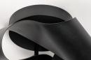 Plafondlamp 74027: modern, retro, metaal, zwart #5