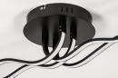 Plafondlamp 74029: design, landelijk, rustiek, modern #7