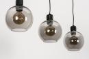Hanglamp 74037: modern, retro, glas, metaal #10