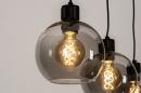 Hanglamp 74037: modern, retro, glas, metaal #11