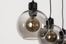 Hanglamp 74037: modern, retro, glas, metaal #12