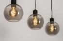 Hanglamp 74037: modern, retro, glas, metaal #3