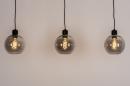 Hanglamp 74037: modern, retro, glas, metaal #6