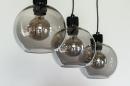Hanglamp 74037: modern, retro, glas, metaal #8