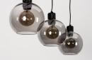 Hanglamp 74037: modern, retro, glas, metaal #9