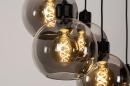 Hanglamp 74038: modern, retro, glas, metaal #10