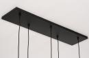 Hanglamp 74038: modern, retro, glas, metaal #13