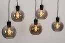 Hanglamp 74038: modern, retro, glas, metaal #4