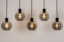 Hanglamp 74038: modern, retro, glas, metaal #5