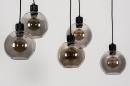 Hanglamp 74038: modern, retro, glas, metaal #8