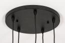Hanglamp 74039: modern, retro, glas, metaal #10