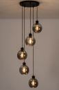Hanglamp 74039: modern, retro, glas, metaal #2