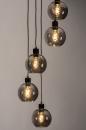 Hanglamp 74039: modern, retro, glas, metaal #4