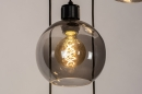 Hanglamp 74039: modern, retro, glas, metaal #7